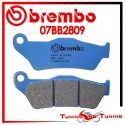 Pastiglie Freno Posteriore Brembo BMW R 1200 GS ADVENTURE 2006 2007 2008 07BB2809