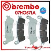 Pastiglie Freno Anteriore Brembo La HONDA XL V TRANSALP 700 ABS 2008 2009 07HO57LA
