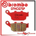Pastiglie Freno Posteriore Brembo BUELL XB12SS LIGHTNING LONG 1200 2005 07HO27SP