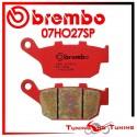 Pastiglie Freno Posteriore Brembo HONDA CBR 250 HURRICANE 1987 1988 07HO27SP