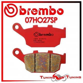 Pastiglie Freno Posteriore Brembo HONDA CBR 250 RJ 1988 1989 1990 07HO27SP