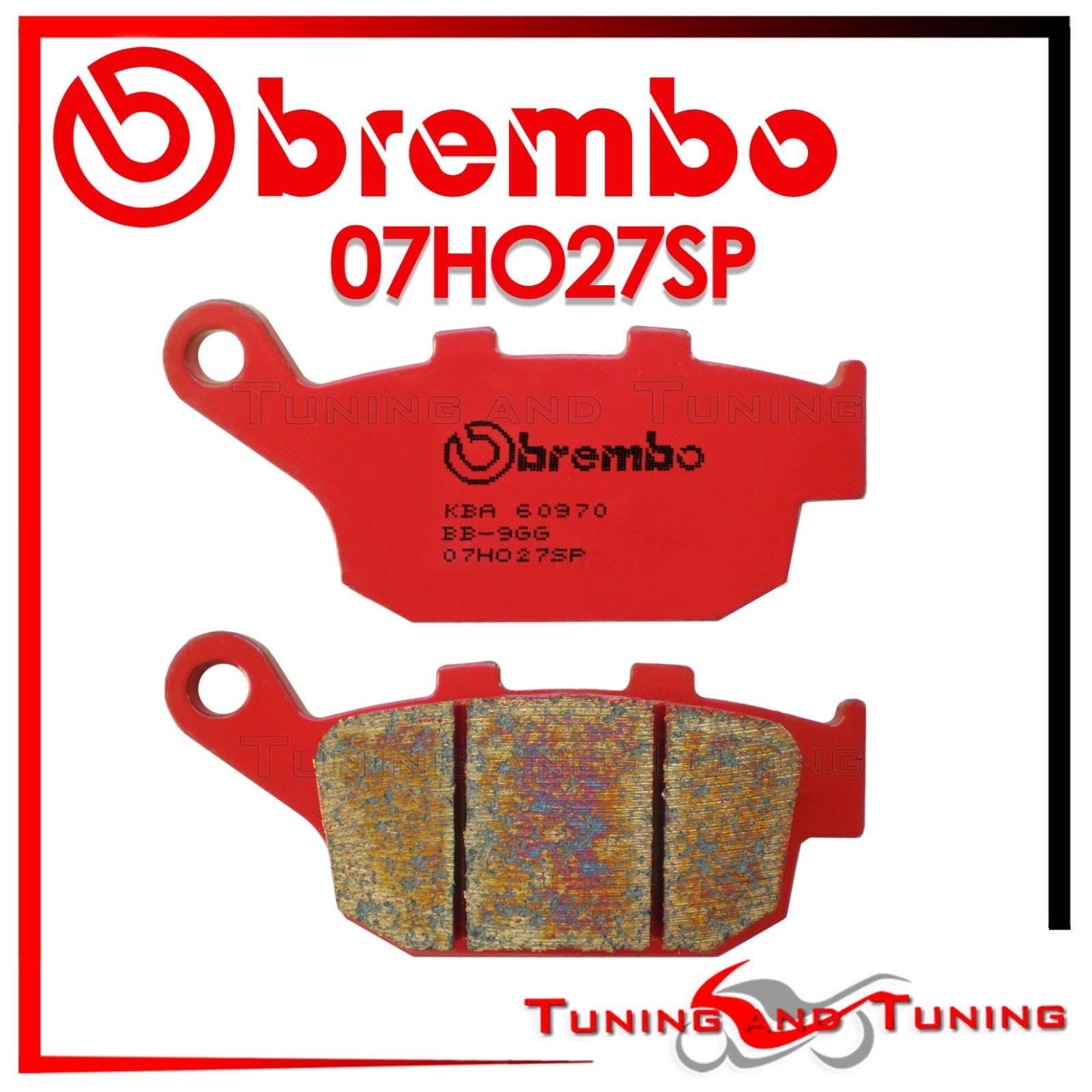 PASTIGLIE FRENO BREMBO ANTERIORE POST BUELL XB12SS LIGHTNING LONG 1200 2005