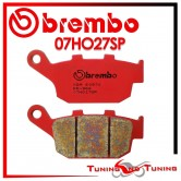 Pastiglie Freno Posteriore Brembo HONDA NTV REVERE 650 1988 1989 1990 07HO27SP