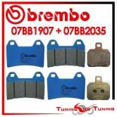 Pastiglie Freno Anteriore E Posteriore Brembo DUCATI ST4 916 1998 1999 2000 07BB1907 + 07BB2035