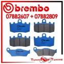 Pastiglie Freno Anteriore E Posteriore Brembo BMW R 850 RT INTEGRAL ABS 2001 2002 07BB2607 + 07BB2809
