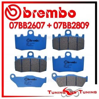 Pastiglie Freno Anteriore E Posteriore Brembo BMW K 1300 S 2009 2010 2011 07BB2607 + 07BB2809