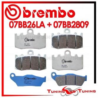 Pastiglie Freno Anteriore E Posteriore Brembo BMW K 1300 S 2009 2010 2011 07BB26LA + 07BB2809