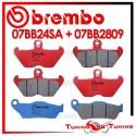 Pastiglie Freno Anteriore E Posteriore Brembo BMW R 1150 GS 1999 2000 2001 07BB24SA + 07BB2809