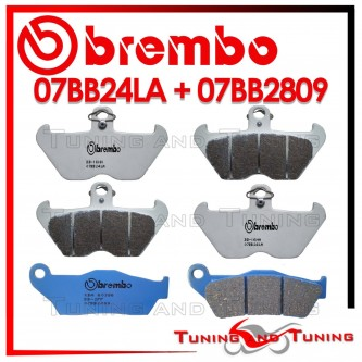 Pastiglie Freno Anteriore E Posteriore Brembo BMW R 850 C 1998 1999 07BB24LA + 07BB2809