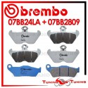 Pastiglie Freno Anteriore E Posteriore Brembo BMW R 850 R 1996 1997 1998 07BB24LA + 07BB2809