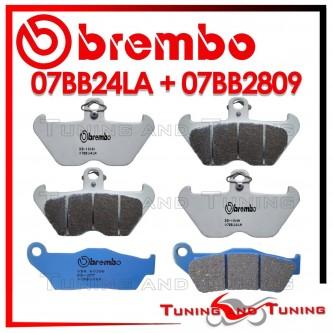 Pastiglie Freno Anteriore E Posteriore Brembo BMW R 1200 C 1997 1998 1999 07BB24LA + 07BB2809