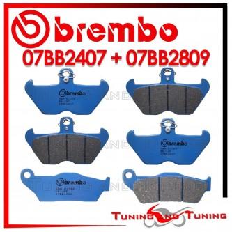 Pastiglie Freno Anteriore E Posteriore Brembo BMW R 850 GS 1998 1999 2000 07BB2407 + 07BB2809