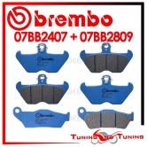 Pastiglie Freno Anteriore E Posteriore Brembo BMW R 1100 R 1995 1996 1997 07BB2407 + 07BB2809