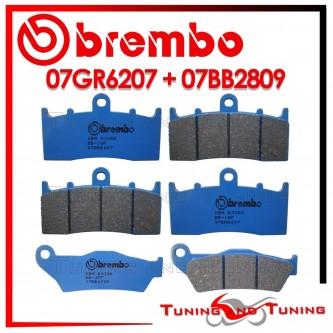 Pastiglie Freno Anteriore E Posteriore Brembo BMW R 1150 R 2001 2002 2003 07GR6207 + 07BB2809