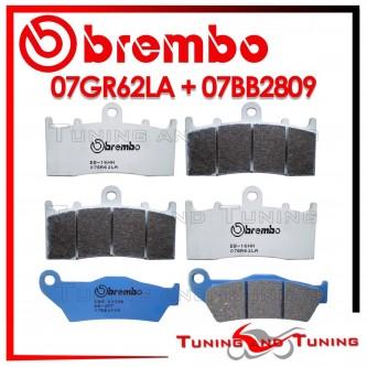 Pastiglie Freno Anteriore E Posteriore Brembo BMW R 1150 RS 2002 2003 07GR62LA + 07BB2809