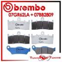 Pastiglie Freno Anteriore E Posteriore Brembo BMW K 1300 R ABS 2009 2010 2011 07GR62LA + 07BB2809