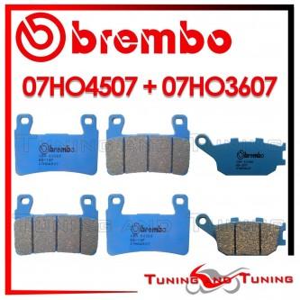 Pastiglie Freno Anteriore E Posteriore Brembo HONDA CB 1300 2003 2004 2005 07HO4507 + 07HO3607