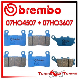Pastiglie Freno Anteriore E Posteriore Brembo HONDA VTR SP2 RC51 1000 2002 2003 07HO4507 + 07HO3607