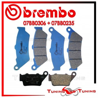 Pastiglie Freno Anteriore E Posteriore Brembo DUCATI SPORT 1000 S 2007 2008 07BB0306 + 07BB0235