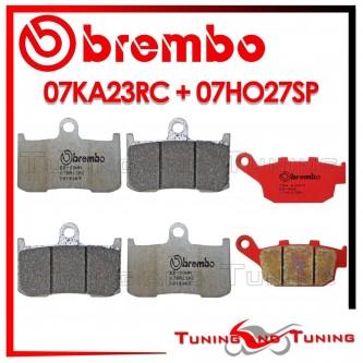 Pastiglie Freno Anteriore E Posteriore Brembo TRIUMPH STREET TRIPLE R 675 2009 2010 07KA23RC + 07HO27SP