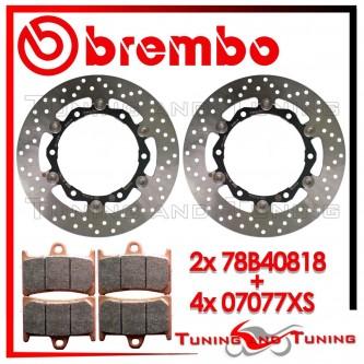 Dischi E Pastiglie Freno Anteriore Brembo YAMAHA T-MAX 500 2008 2009 78B40818 + 07077XS