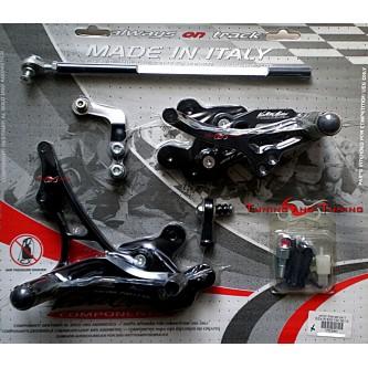 Pedane Valter Moto SUZUKI GSX-R GSXR 750 2008 2009 2010 PES64
