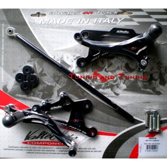 Pedane Valter Moto APRILIA RS 250 2000 2001 2002 2003 2004 2005 PEA04
