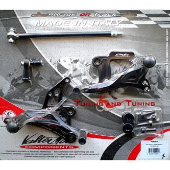 Pedane Valter Moto SUZUKI GSX-R GSXR 1000 2001 2002 2003 2004 PES23