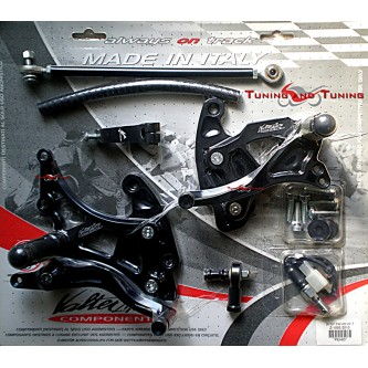 Pedane Valter Moto KAWASAKI Z 1000 SX 2010 2011 2012 2013 PEK83