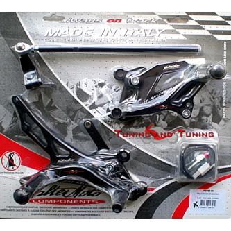 Pedane Valter Moto HONDA CBR 1000 RR 2006 2007 PEH60