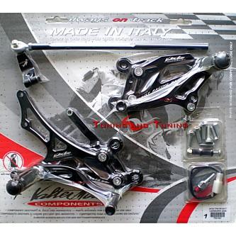 Pedane Valter Moto HONDA CBR 600 RR 2005 2006 PEH55