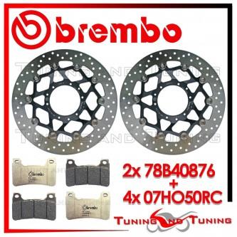 Dischi E Pastiglie Freno Anteriore Brembo HONDA CBR 1000 RR 2008 2009 78B40876 + 07HO50RC
