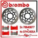 Dischi E Pastiglie Freno Anteriore Brembo HONDA CBR 1000 RR 2006 2007 78B40877 + 07HO50SA