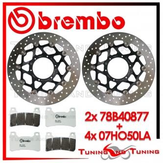 Dischi E Pastiglie Freno Anteriore Brembo HONDA CBR 1000 RR 2006 2007 78B40877 + 07HO50LA
