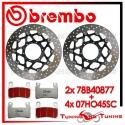Dischi E Pastiglie Freno Anteriore Brembo HONDA VTR SP2 1000 2002 2003 2004 78B40877 + 07HO45SC