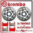 Dischi E Pastiglie Freno Anteriore Brembo HONDA CBR 600 F 1999 2000 78B40825 + 07HO45SA