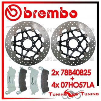 Dischi E Pastiglie Freno Anteriore Brembo HONDA XL V VARADERO 1000 ABS 2003 78B40825 + 07HO57LA