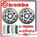 Dischi E Pastiglie Freno Anteriore Brembo HONDA CROSSRUNNER 800 2011 2012 78B40825 + 07HO57LA