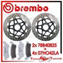 Dischi E Pastiglie Freno Anteriore Brembo HONDA XL VARADERO 1000 1999 2000 78B40825 + 07HO42LA