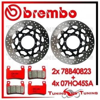 Dischi E Pastiglie Freno Anteriore Brembo HONDA CBR 600 F 2001 2002 2003 78B40823 + 07HO45SA