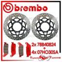 Dischi E Pastiglie Freno Anteriore Brembo HONDA CBR 600 F 2011 2012 2013 78B40824 + 07HO30SA