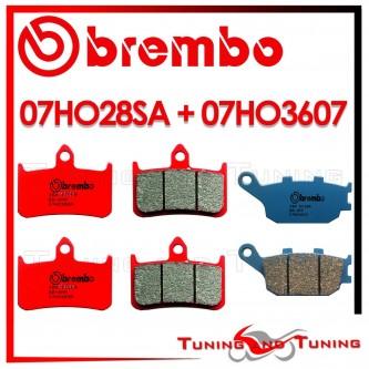 Pastiglie Freno Anteriore E Posteriore Brembo HONDA CBR 900 RR 1992 1993 1994 07HO28SA + 07HO3607