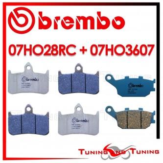 Pastiglie Freno Anteriore E Posteriore Brembo HONDA CBR 900 RR 1992 1993 1994 07HO28RC + 07HO3607