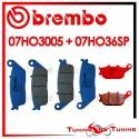 Pastiglie Freno Anteriore E Posteriore Brembo HONDA CBR F 600 1995 1996 07HO3005 + 07HO36SP