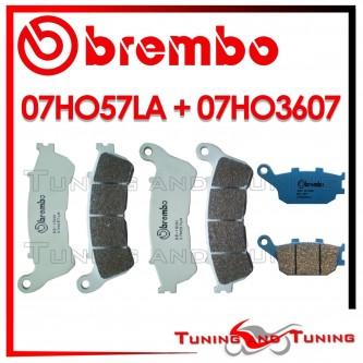 Pastiglie Freno Anteriore E Posteriore Brembo HONDA CB 1100 2013 07HO57LA + 07HO3607