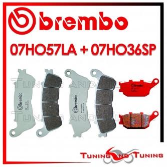 Pastiglie Freno Anteriore E Posteriore Brembo HONDA CB 1100 2013 07HO57LA + 07HO36SP