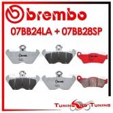 Pastiglie Freno Anteriore E Posteriore Brembo BMW R 850 C 1998 1999 07BB24LA + 07BB28SP