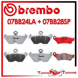 Pastiglie Freno Anteriore E Posteriore Brembo BMW R 1150 GS 1999 2000 2001 07BB24LA + 07BB28SP