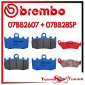 Pastiglie Freno Anteriore E Posteriore Brembo BMW HP2 MEGAMOTO 1200 2007 2008 07BB2607 + 07BB28SP