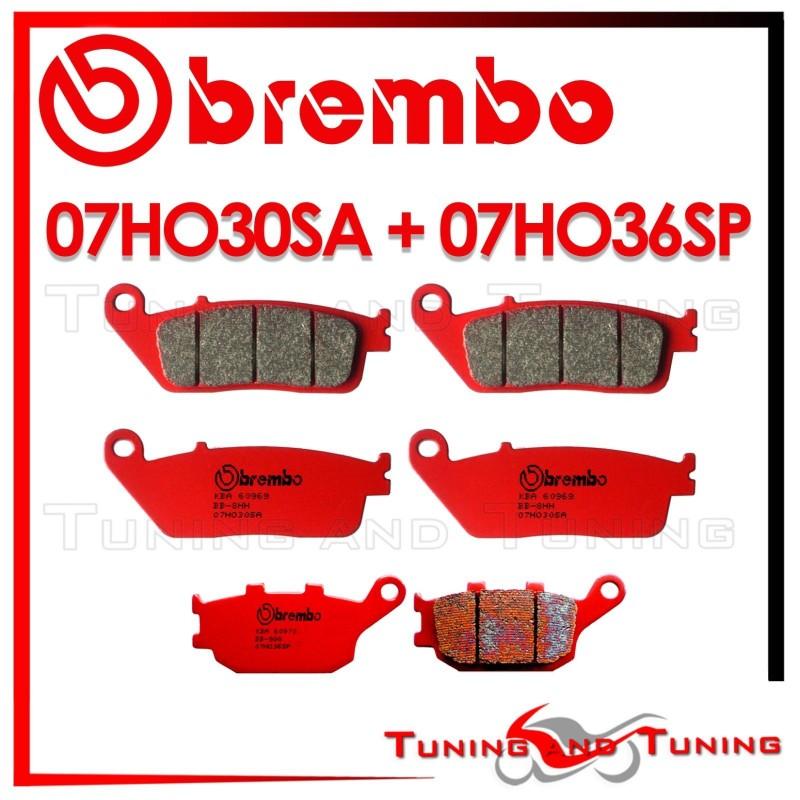 PASTIGLIE FRENO POSTERIORI BREMBO SINTERIZZATE CBF 500 2004-2006 CB F Hornet 600 1998-2006 CB F Hornet Abs 600 2007-2013 CB F Hornet S 600 2000-2006